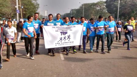 The Tata Steel Kolkata 25k Marathon